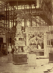 Candelabrum Of The Salle De La Paix, And Other Objects In Nave